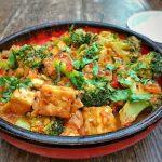 Singapore style tofu